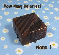 Chocolate Fudge Melt & Pour Soap Squares