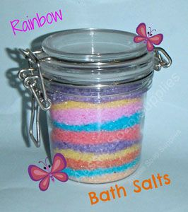 Rainbow Bath Salts