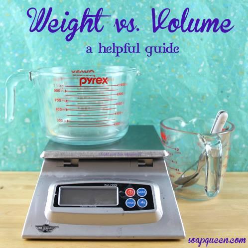 Weight vs Volume