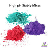 Cold Process Soap Stable Micas and Glitters