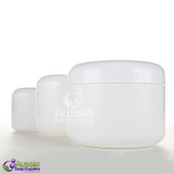 Cosmetic Jars:  Spa, Bail, Double Wall, Wide Neck