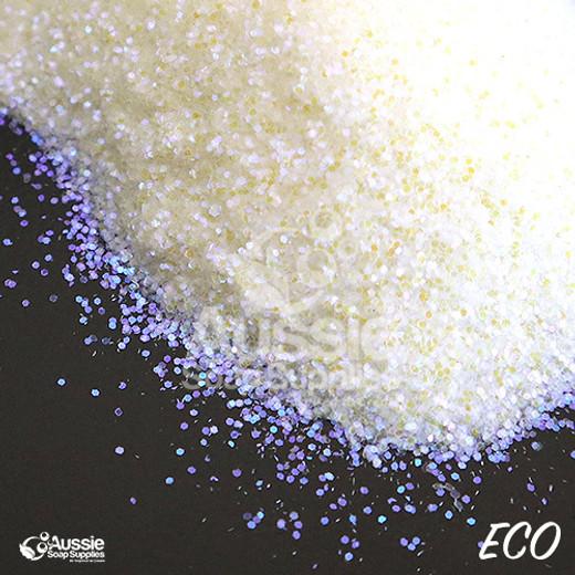 Eco Glitter, Holographic Snowflake (Regular)