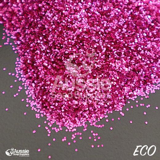 Eco Glitter, Petunia Pink (Regular)