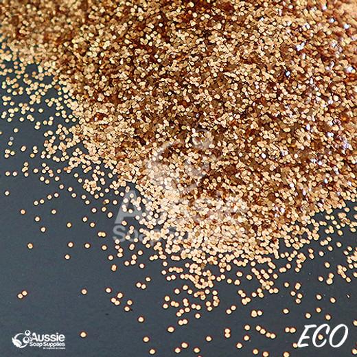 Eco Glitter,  Amber Gold (Regular)