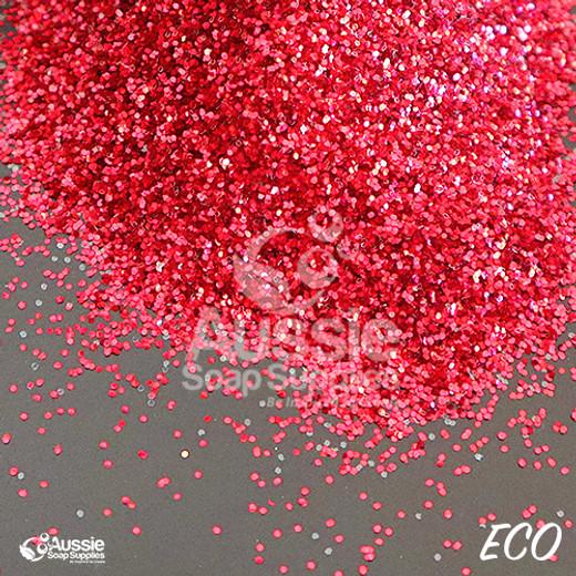 Eco Glitter,  Red (Regular)