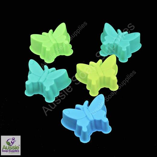 Budget-Wise Flex Mould - Butterfly (Single) - 5 pack
