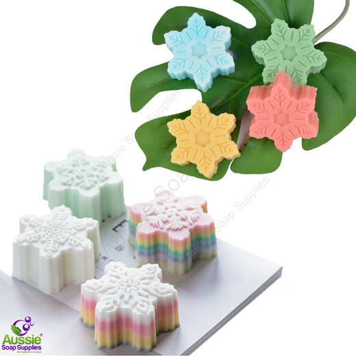 Budget-Wise Flex Mould - 6 Snowflakes (TWO)