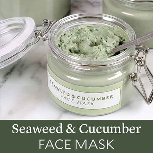 Soap Queen's Seaweed and Cucumber Face Mask Tutorial