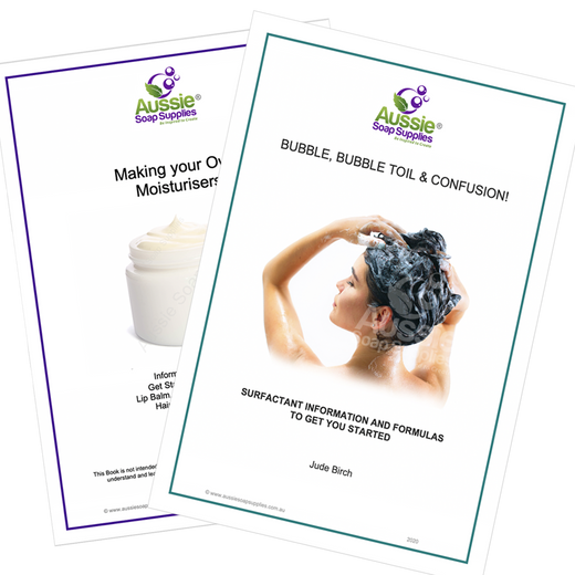 Books Set - Bubble, Bubble, Toil & Confusion & Making Your Own Moisturisers