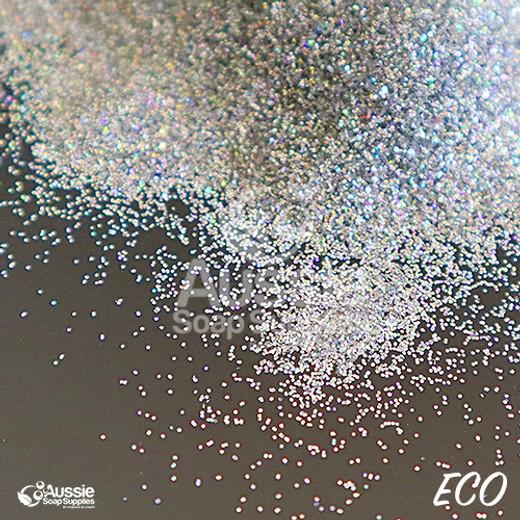 ECO Glitter, Silver Stargazer (Fine)