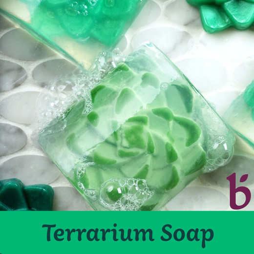 Terrarium Melt & Pour Soap Project by Bramble Berry