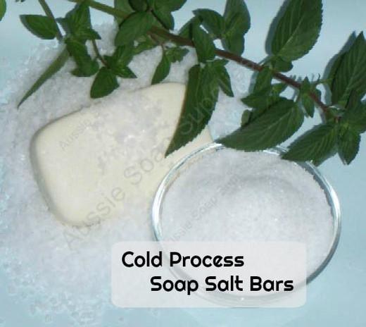 Tania's Cold Process Salt Soap Bars
