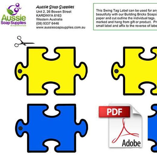 Free Jigsaw Swing Tags PDF