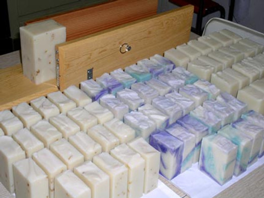 Rebatching CP Soap - Millers