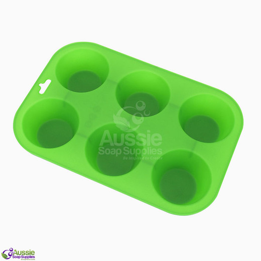 Budget-Wise Flex Mould - Cupcake Six