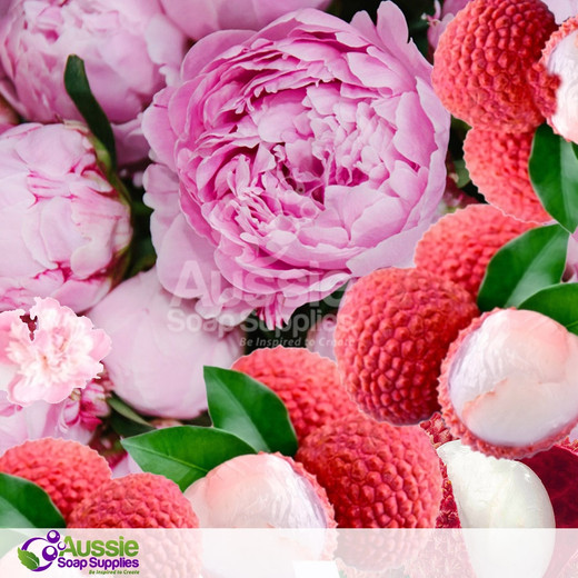 Lychee and Peony Fragrance *in stock