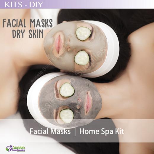 Home Spa Kit – Facial Masks DRY Skin