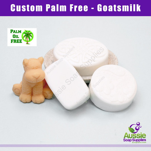 Palm Free Melt & Pour Soap Base - Goatsmilk