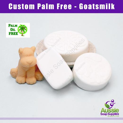 Palm Free Melt & Pour Soap Base - Goatsmilk