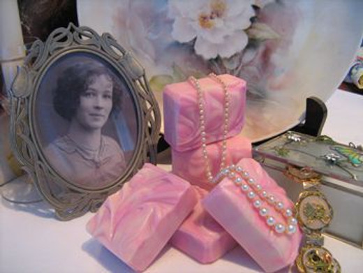 Sweet Pea Delight Cold Processed Soap