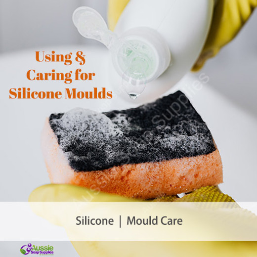 Using and Caring for Silicone Moulds