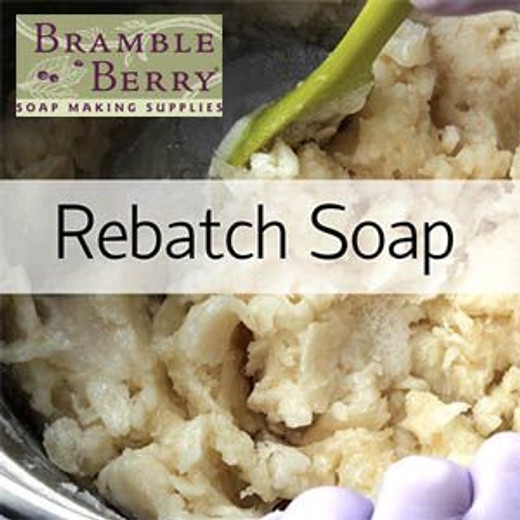 Rebatching Method One - Soap Queen Collection