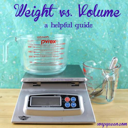 Why you use Weight not Volume!