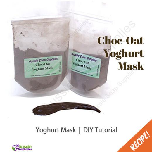 Choc-Oat Yoghurt Mask