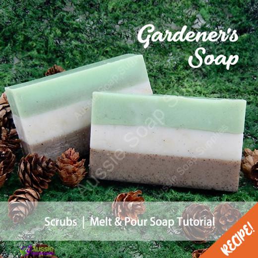 Lush Loofah & Pumice Gardeners Soap
