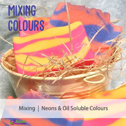How to Mix Neons and Oil Soluble Colours