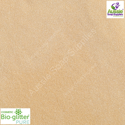 BioGlitter® PURE: Light Gold (Fine)