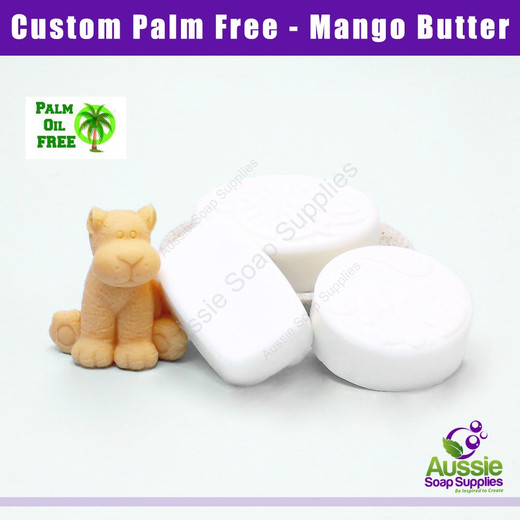 Palm Free Melt & Pour Soap Base - Mango Butter