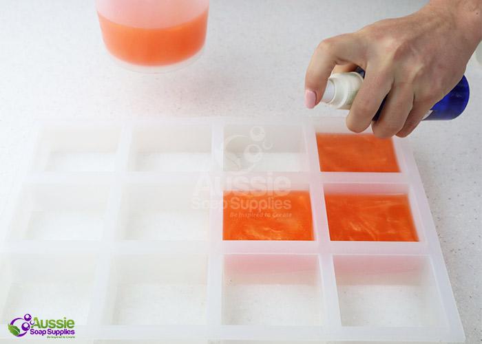 Citrus Splash Melt and Pour Soap Project