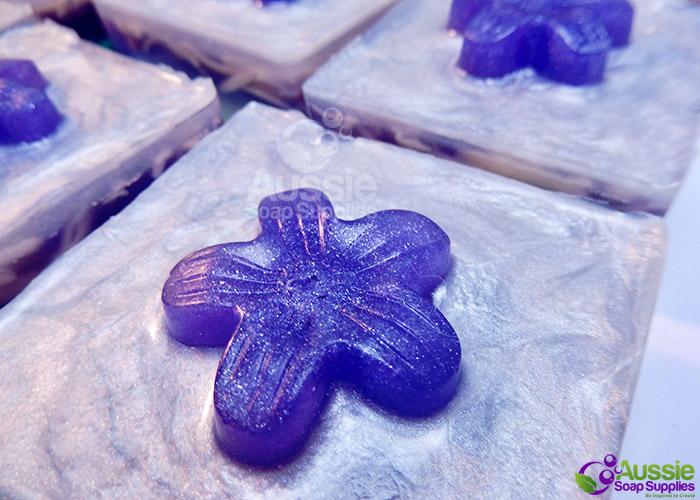 Melt & Pour Soap Lavender Garden Upcycled Soap Bars DIY