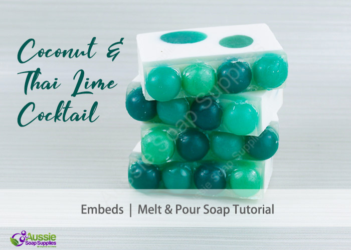 Palm Free Fresh Green Melt and Pour Soap