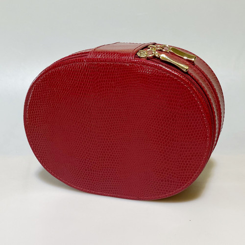 OVAL JEWELRY TRAVEL CASE