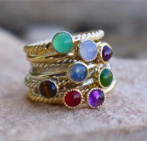Stacker Rings can make a very unique look each of every day!