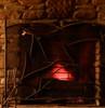 Evergreen Iron Single Panel Fire screen
