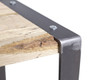The 201 Forged Stool With Reclaimed Wood Seat