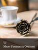 Hand-Forged Rose Keepsake
