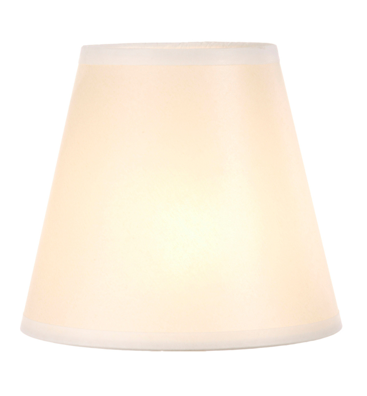 Ivory Glow Hand Forged Iron Table Lamp Shade 14 Inch By 9 Inch