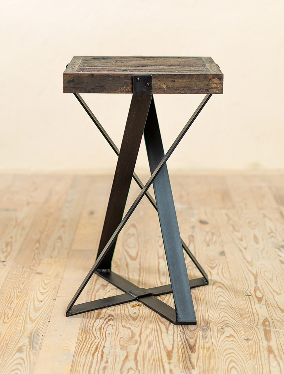 - The 201 Hand-Forged Accent Table - Urban Forge