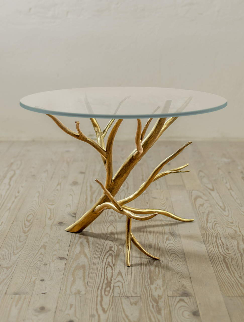 Picture of: Driftwood Hand Forged Iron Side Table Urban Forge