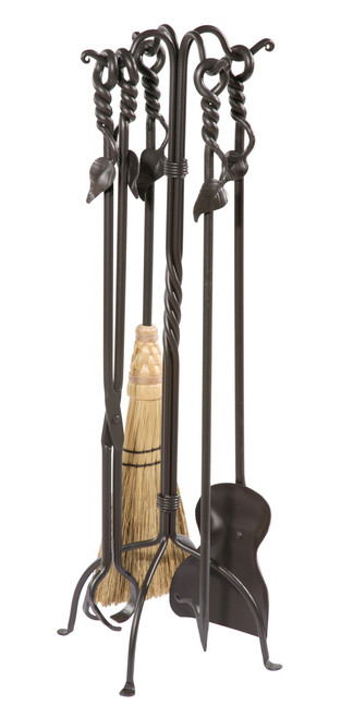 Iron Firetools - Evening Shade Collection - 5 Piece