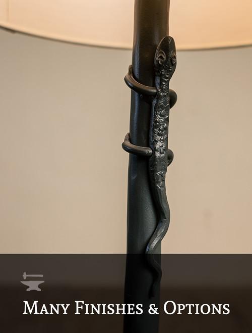 Salamander Iron Table Lamp