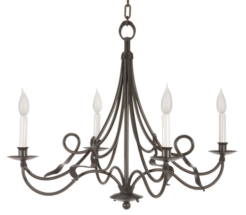 Jacksonport 4 Arm Iron Chandelier