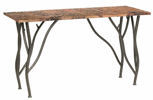 Greenwood Console Iron Sofa Table