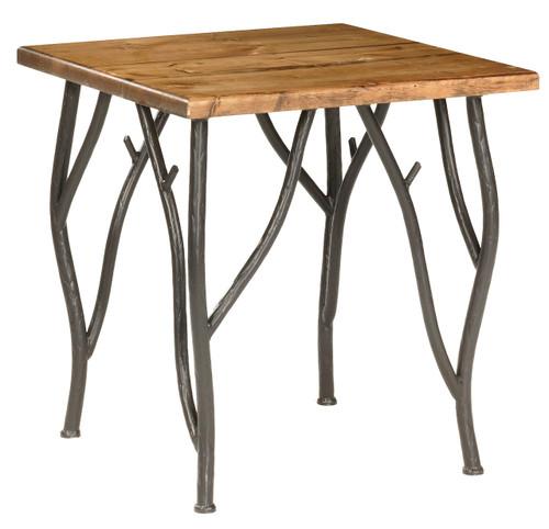 Greenwood Iron Side Table