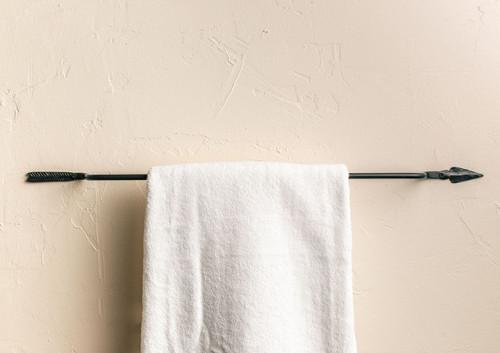 Ozark Iron Towel Bar 32 inch