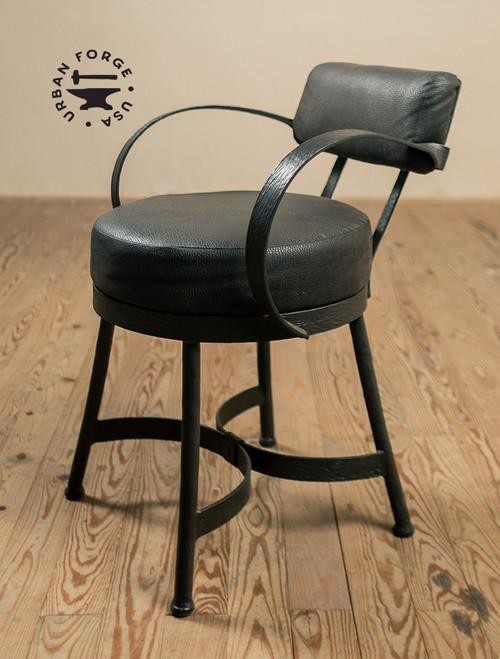 Huntington Iron Arm Chair